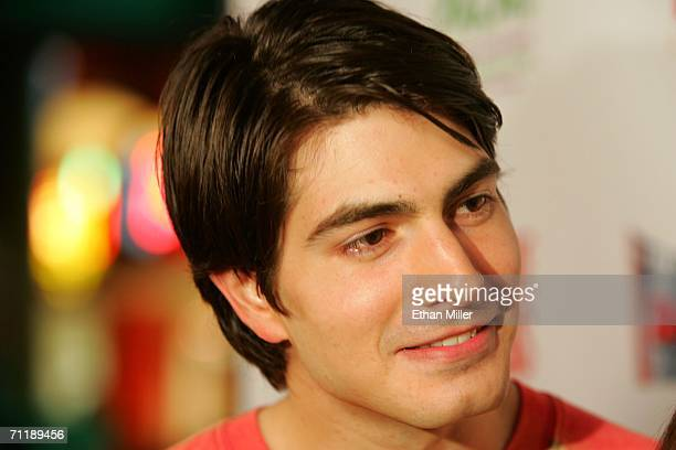 Actor Brandon Routh arrives at the Denial screening at the Brenden Theatres inside the Palms Casino Resort during the CineVegas film festival on June...
