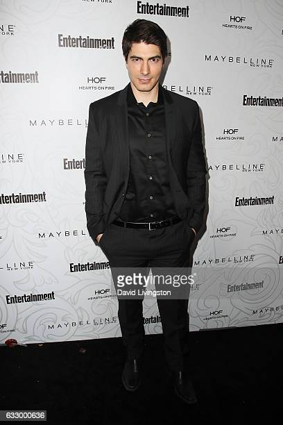 Actor Brandon Routh arrives at the Entertainment Weekly celebration honoring nominees for The Screen Actors Guild Awards at the Chateau Marmont on...