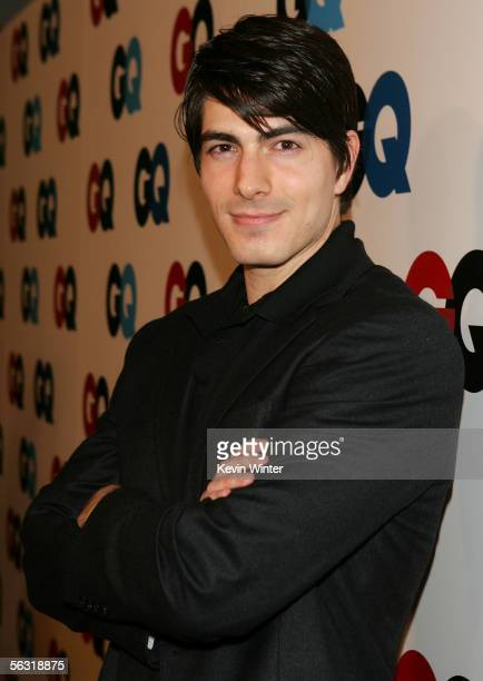 Actor Brandon Routh arrives at the GQ 2005 Men Of The Year celebration at Mr Chow Beverly Hills on December 1 2005 in Beverly Hills California