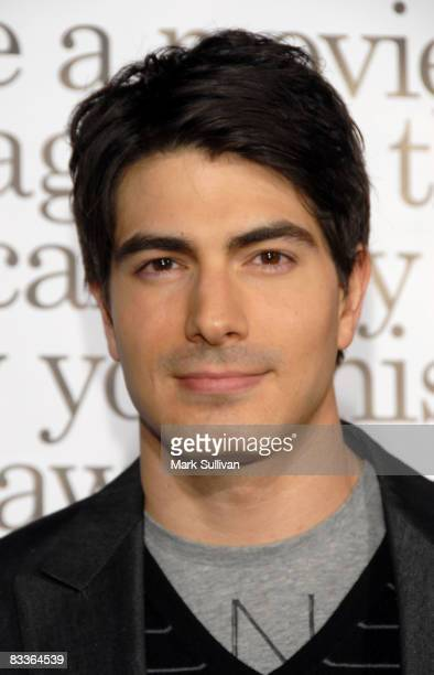 Actor Brandon Routh arrives at the Los Angeles Premiere of Zack And Miri Make A Porno at the Grauman's Chinese Theater on October 20 2008 in...