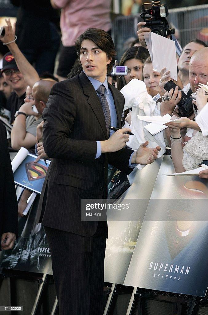 Superman Returns - UK Premiere : News Photo