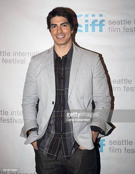 Actor Brandon Routh at the premier of Miss Nobody at Harvard Exit Theater on June 10 2010 in Seattle Washington