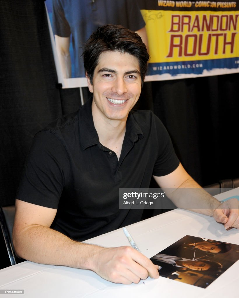 Actor Brandon Routh attends Day 1 of Wizard World Chicago Comic Con 2013 at the Donald E. Stephens Convention Center on August 9, 2013 in Rosemont, Illinois.