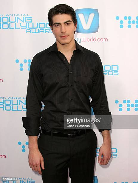 Actor Brandon Routh attends Movieline's Hollywood Life 8th Annual Young Hollywood Awards at the Music Box at The Fonda on April 30 2006 in Hollywood...
