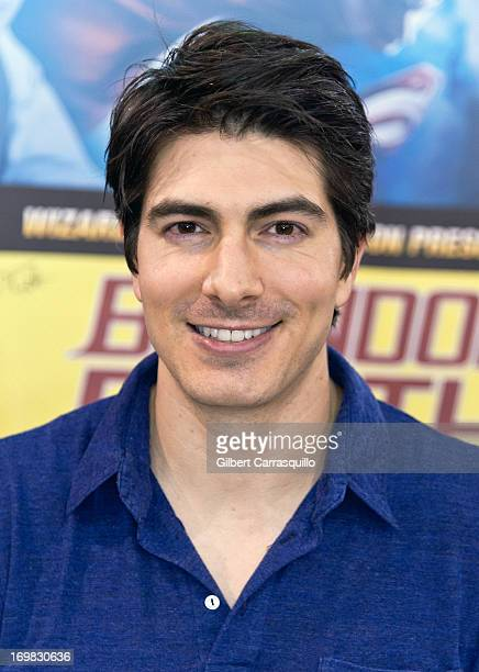 Actor Brandon Routh attends Philadelphia Comic Con 2013 Day 4 at the Pennsylvania Convention Center on June 2 2013 in Philadelphia Pennsylvania