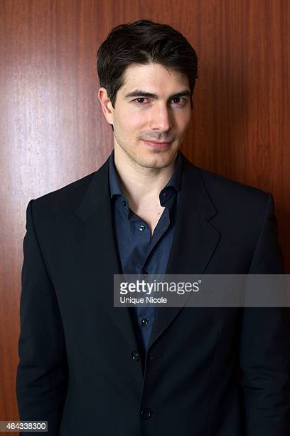 Actor Brandon Routh attends the 'Lost In The Pacific' Press Conference at The Beverly Hilton Hotel on February 24 2015 in Beverly Hills California