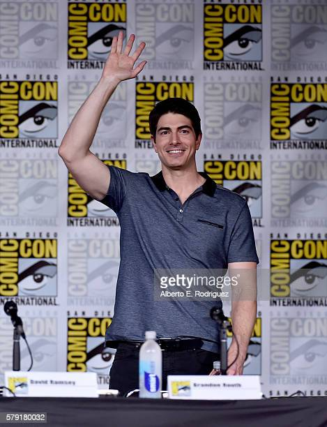 Actor Brandon Routh attends TV Guide Magazine's Fan Favorites during Comic Con 2016 at San Diego Convention Center on July 22 2016 in San Diego...