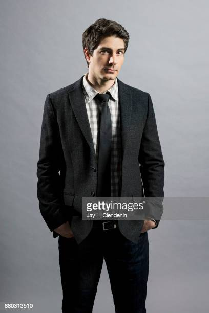 Actor Brandon Routh from CW's 'DC's Legends of Tomorrow' is photogarphed for Los Angeles Times on March 18 2017 in Los Angeles California PUBLISHED...