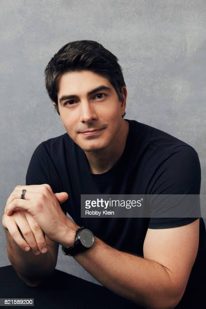 Actor Brandon Routh from CW's 'Legends of Tomorrow' poses for a portrait during ComicCon 2017 at Hard Rock Hotel San Diego on July 22 2017 in San...