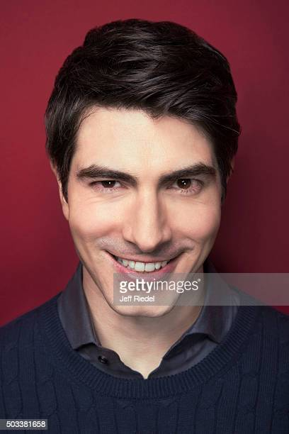 Actor Brandon Routh is photographed for TV Guide Magazine on January 17 2015 in Pasadena California