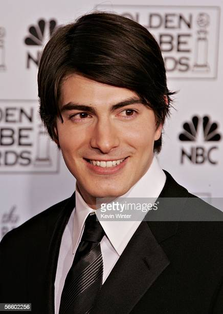 Actor Brandon Routh poses backstage during 63rd Annual Golden Globe Awards at the Beverly Hilton on January 16 2006 in Beverly Hills California