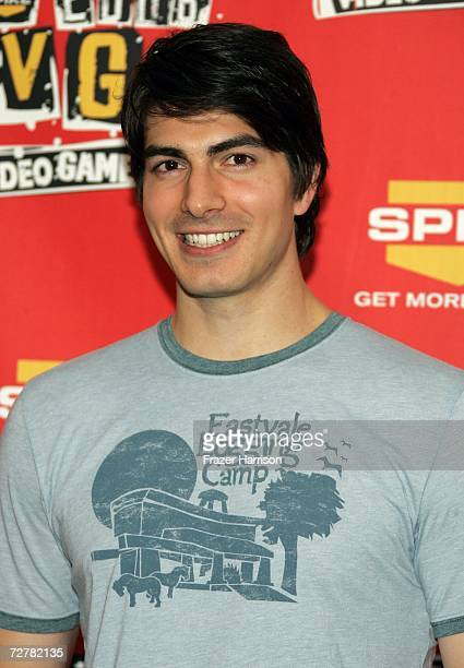 Actor Brandon Routh poses in the press room during the 4th Annual Spike TV 2006 Video Game Awards held at The Galen Center on December 8 2006 in Los...