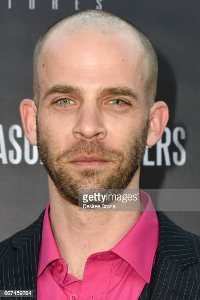 """Actor Brandon Sean Pearson attends the premiere of """"The Mason Brothers"""" at the Egyptian Theatre on April 11, 2017 in Hollywood, California."""