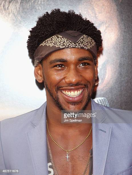 """Actor Brandon Smith attends the """"Get On Up"""" premiere at The Apollo Theater on July 21, 2014 in New York City."""