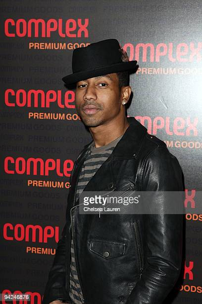 Actor Brandon T Jackson arrives at the 2009 Complex Premium Goods Event at MyHouse Nightclub on December 9 2009 in Hollywood California