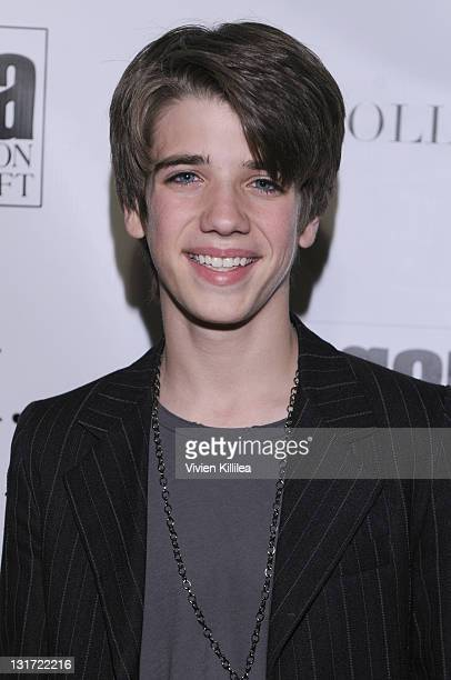 Actor Brandon Tyler Russell attends Fashion Week at The Agenda Loft Featuring CGH Couture and Holly Waas at The Agenda Loft on March 17 2011 in Los...