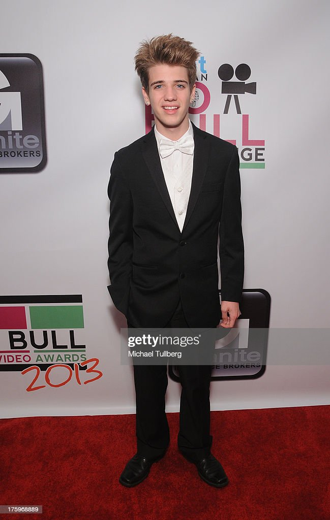 Actor Brandon Tyler Russell attends the 2013 No Bull Teen Video Awards at Westin LAX Hotel on August 10, 2013 in Los Angeles, California.