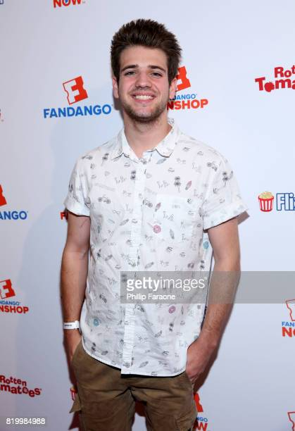 Actor Brandon Tyler Russell attends the ComicCon International 2017 Fandango opening night party with special performance by Elle King at San Diego...