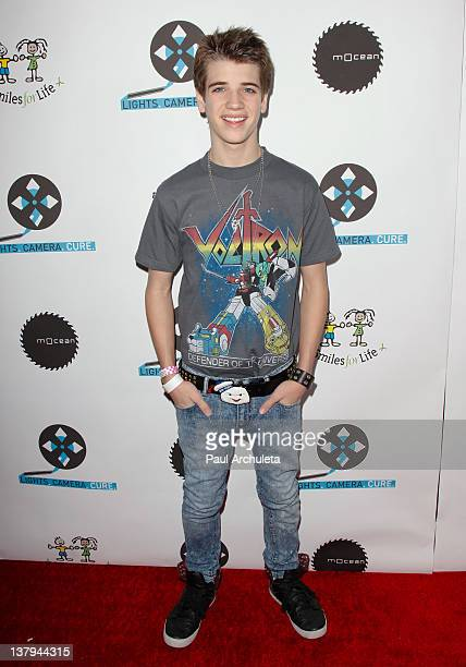 Actor Brandon Tyler Russell attends the 'Lights Camera Cure 2012 Hollywood DanceAThon' at Avalon on January 29 2012 in Hollywood California