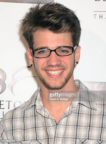 Actor Brandon Tyler Russell attends the 'Pernicious' premiere at Arena Cinema Hollywood on June 19 2015 in Hollywood California