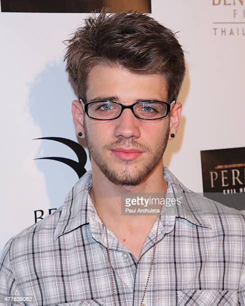 Actor Brandon Tyler Russell attends the premiere Pernicious at Arena Cinema Hollywood on June 19 2015 in Hollywood California