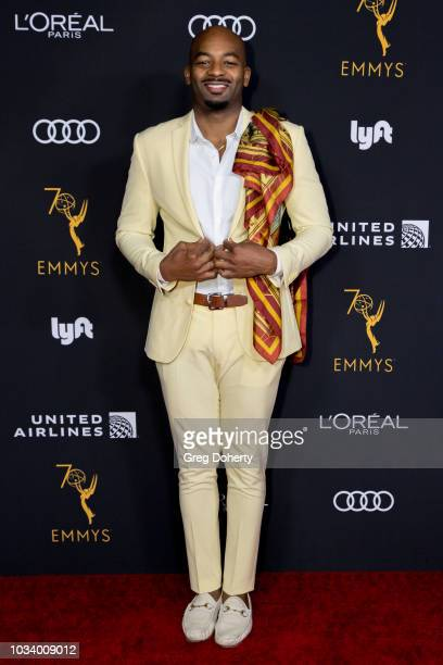 Actor Brandon Victor Dixon attends the Television Academy Honors Emmy Nominated Performers Reception at Wallis Annenberg Center for the Performing...