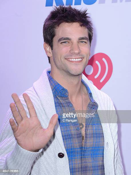 Actor Brant Daugherty attends KIIS FM's Jingle Ball at Staples Center on December 6 2013 in Los Angeles California