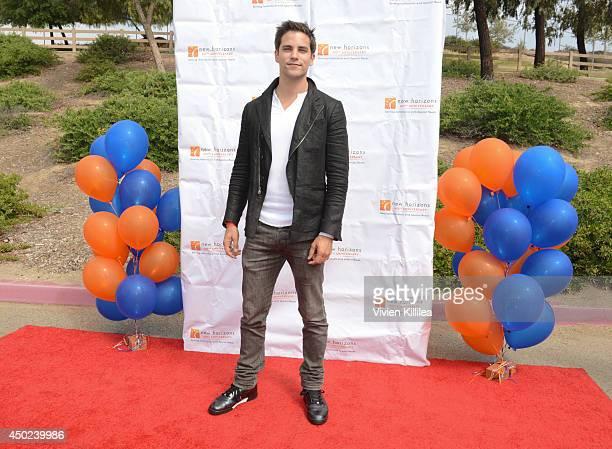 Actor Brant Daugherty attends Lauren Potter Cody Simpson Brant Daugherty Host New Horizons 5K Run/Walk on June 7 2014 in Los Angeles California