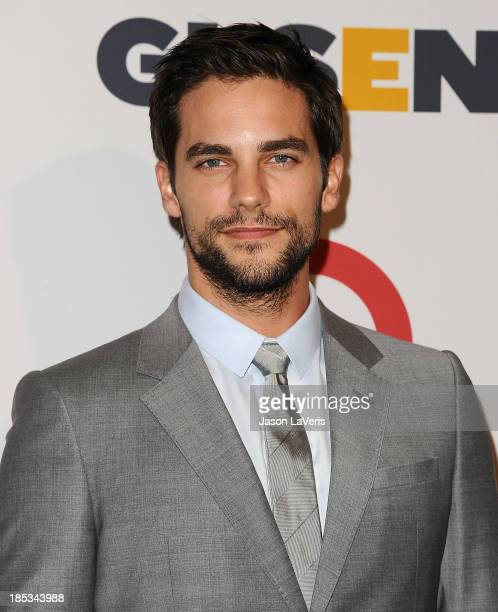 Actor Brant Daugherty attends the 9th annual GLSEN Respect Awards at Beverly Hills Hotel on October 18 2013 in Beverly Hills California