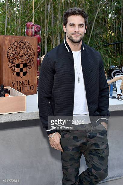 Actor Brant Daugherty attends the Vince Camuto Mens exclusive preview at the home of Ashlee Margolis on October 28 2015 in Beverly Hills California