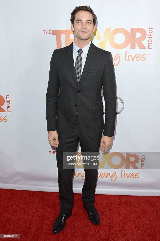 Actor Brant Daugherty attends 'TrevorLIVE LA' honoring Jane Lynch and Toyota for the Trevor Project at Hollywood Palladium on December 8, 2013 in Hollywood, California.