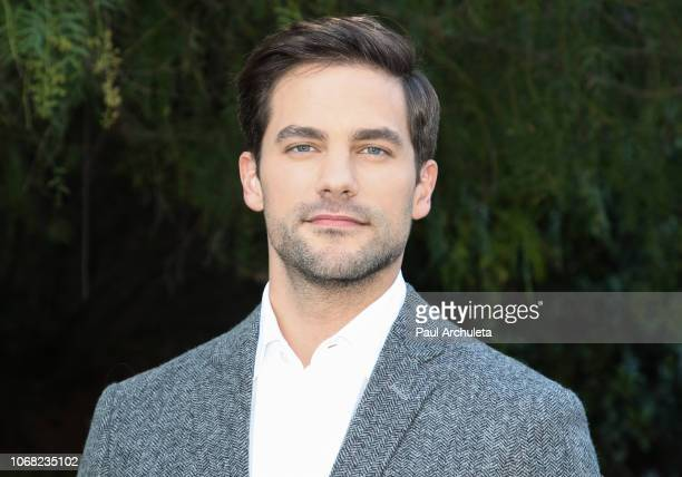 Actor Brant Daugherty visits Hallmark's 'Home Family' at Universal Studios Hollywood on November 15 2018 in Universal City California