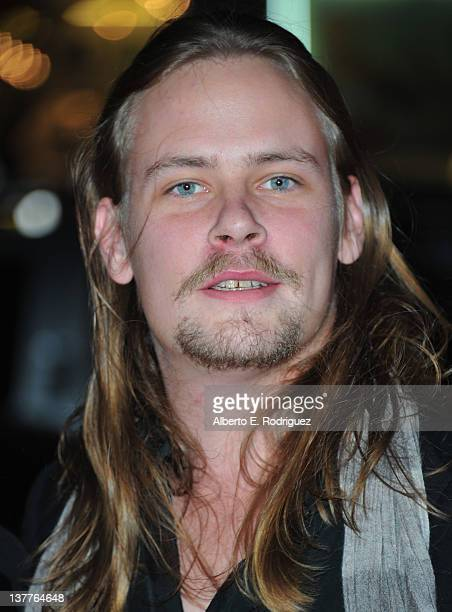 Actor Brawley Nolte arrives to the premiere of HBO's new series Luck at Grauman's Chinese Theatre on January 25 2012 in Hollywood California