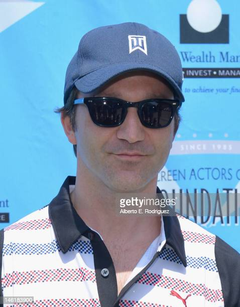 Actor Breckin Meyer arrives to the Screen Actors Guild Foundation's 3rd Annual LA Golf Classic at Lakeside Golf Club on June 11 2012 in Burbank...