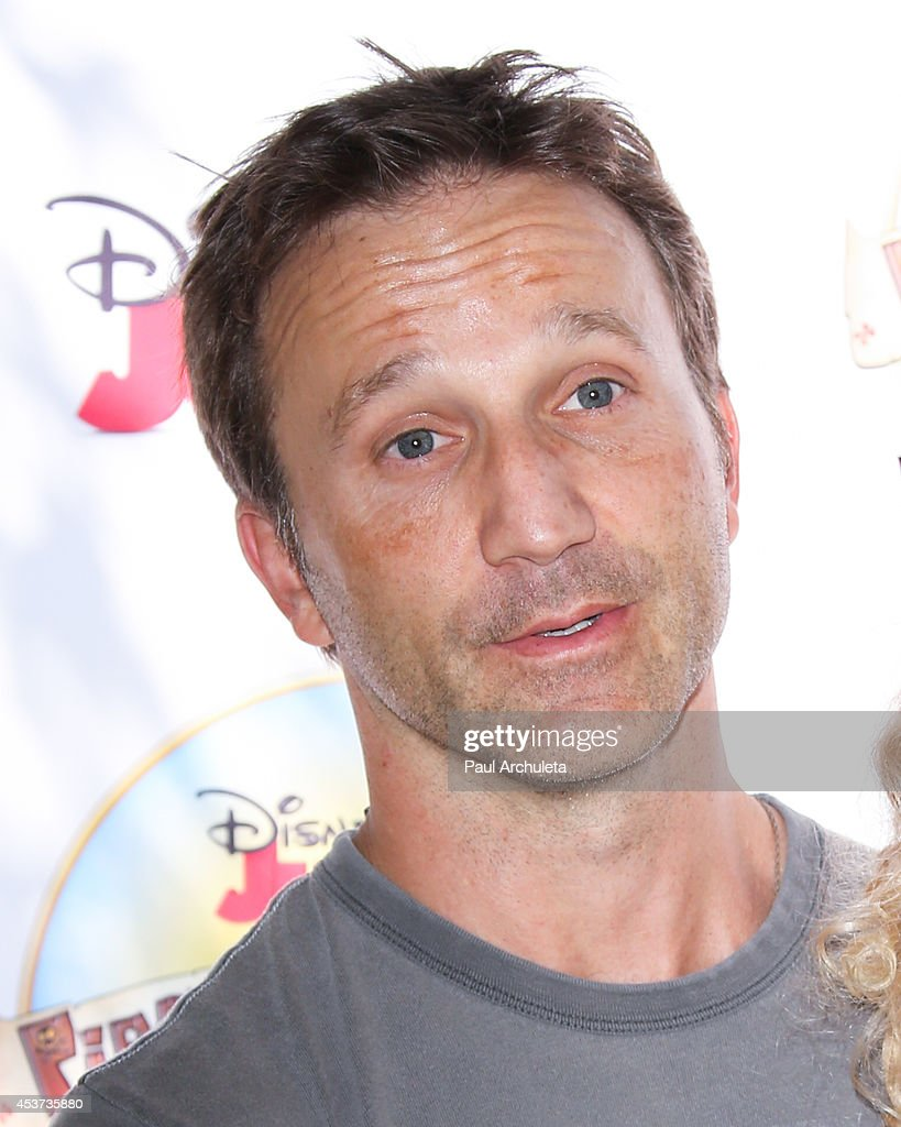 Actor Breckin Meyer attends Disney Junior's 'Pirate And Princess: Power Of Doing Good' tour at Brookside Park on August 16, 2014 in Pasadena, California.