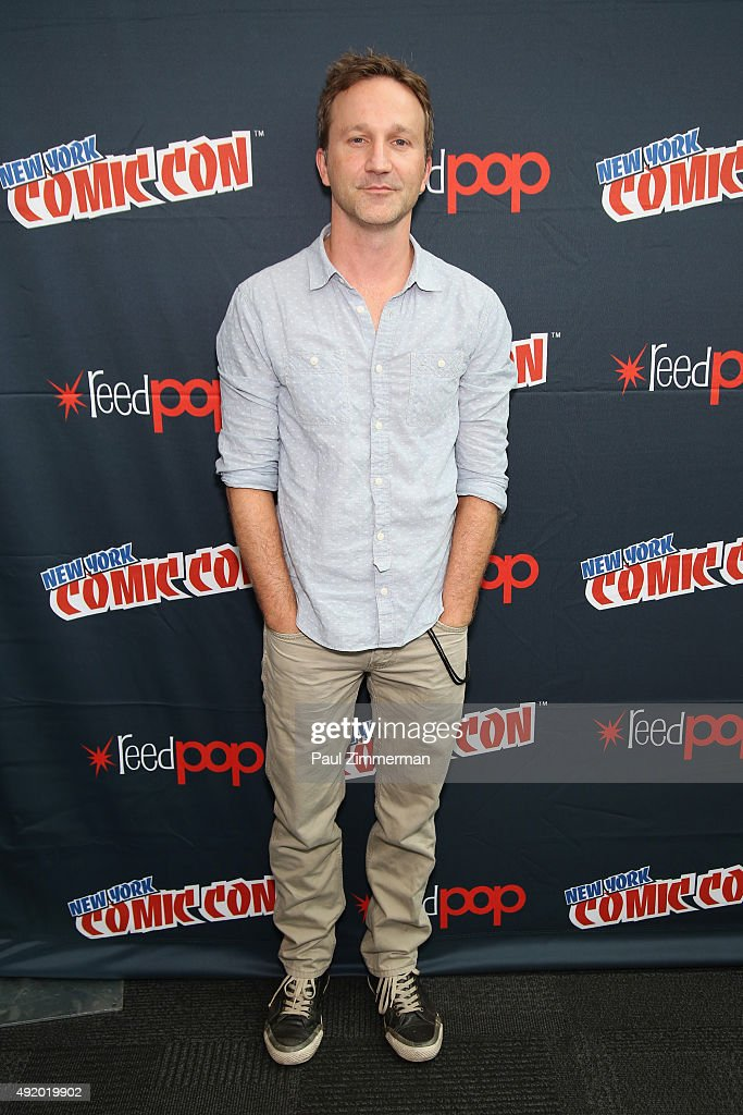 Actor Breckin Meyer attends the Robot Chicken / Neon Joe and Werewolf Hunter Adult Swim Press Hour at New York Comic Con 2015 at the Jacob Javitz Center on October 9, 2015 in New York, United States. 25749_001 136.JPG