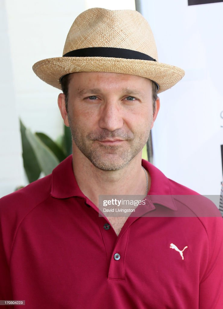 Actor Breckin Meyer attends the Screen Actors Guild Foundation 4th Annual Los Angeles Golf Classic at Lakeside Golf Club on June 10, 2013 in Burbank, California.
