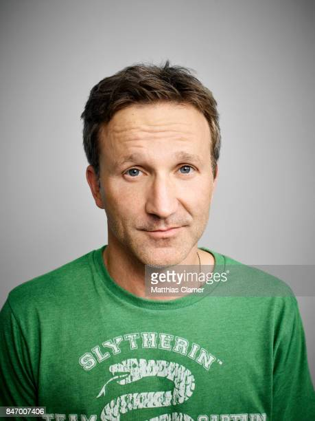 Actor Breckin Meyer from 'Robot Chicken' is photographed for Entertainment Weekly Magazine on July 22 2016 at Comic Con in the Hard Rock Hotel in San...