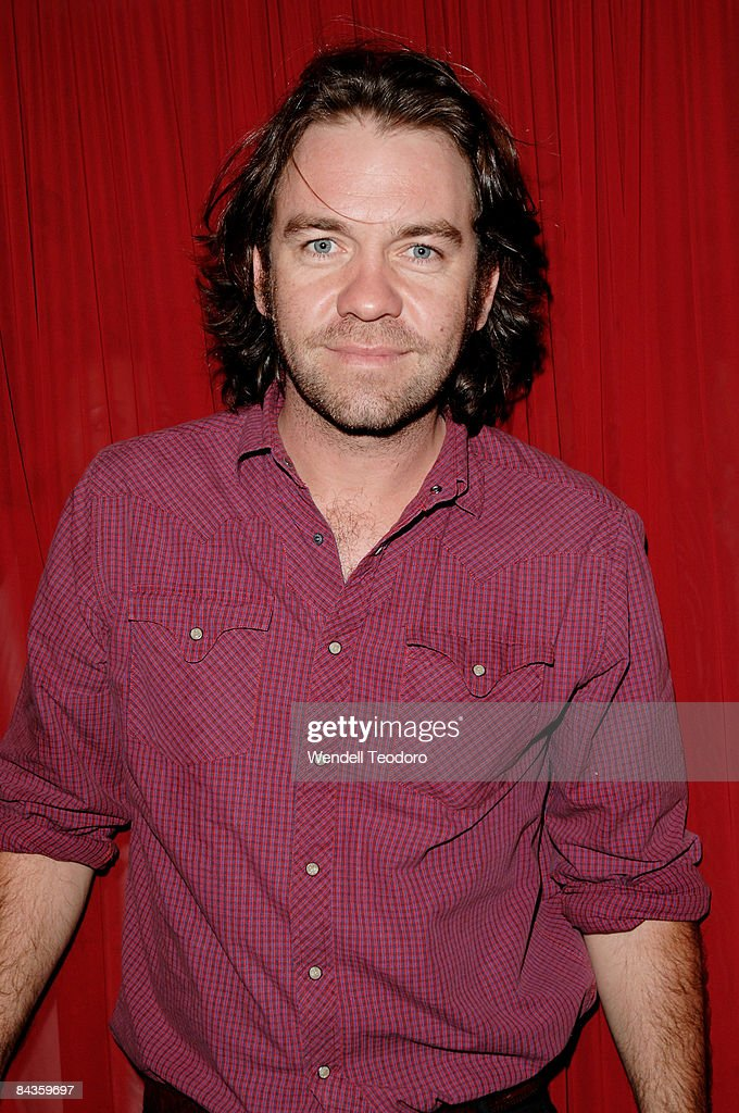 Actor Brendan Cowell arrives for the 2008 Sydney Theatre Awards at the Paddington RSL on January 19, 2009 in Sydney, Australia.