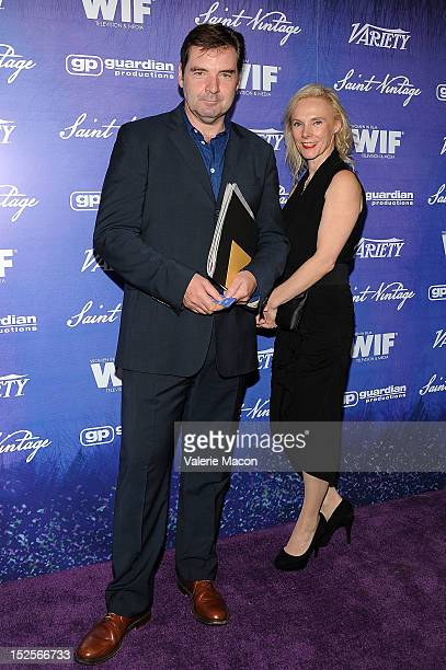 Actor Brendan Coyle arrives at the Variety And Women In Film PreEmmy Event at Scarpetta on September 21 2012 in Beverly Hills California