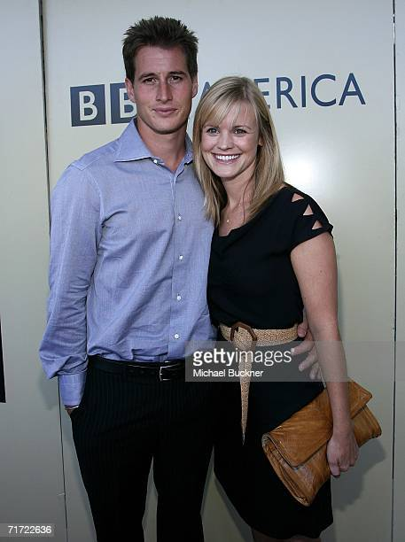Actor Brendan Fehr and wife Jennifer arrive at the BAFTA/LAAcademy of Television Arts and Sciences Tea Party at the Century Hyatt on August 26 2006...