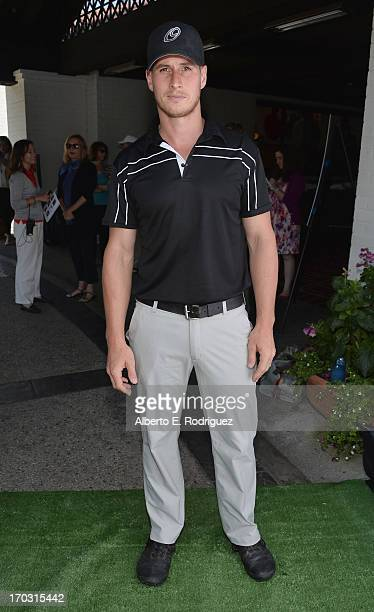 Actor Brendan Fehr attends the Screen Actors Guild Foundation 4th Annual Los Angeles Golf Classic at Lakeside Golf Club on June 10 2013 in Burbank...
