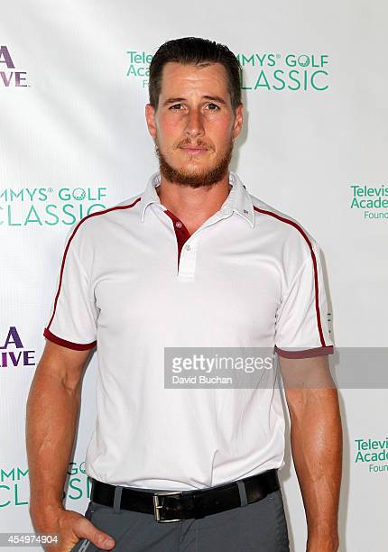 Actor Brendan Fehr attends The Television Academy Foundation's 15th Annual Emmys Golf Classic at Wilshire Country Club on September 8 2014 in Los...