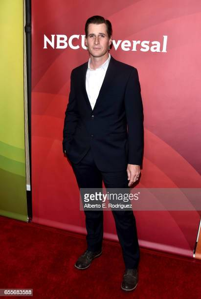 Actor Brendan Fehr from the show 'The Night Shift' attends the 2017 NBCUniversal Summer Press Day at The Beverly Hilton Hotel on March 20 2017 in...