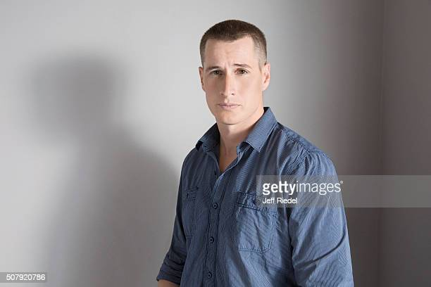 Actor Brendan Fehr is photographed for TV Guide Magazine on January 16 2015 in Pasadena California