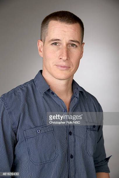 Actor Brendan Fehr of 'The Night Shift' poses for a portrait during the NBCUniversal TCA Press Tour at The Langham Huntington Pasadena on January 16...