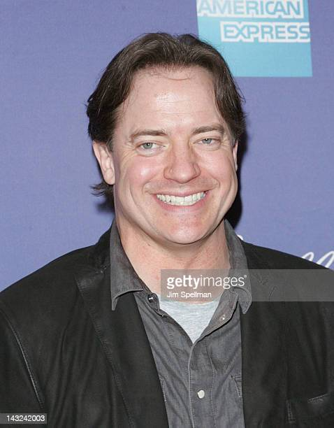 Actor Brendan Fraser attends the premiere of 'Whole Lotta Sole' during the 2012 Tribeca Film Festival at BMCC Tribeca PAC on April 21 2012 in New...