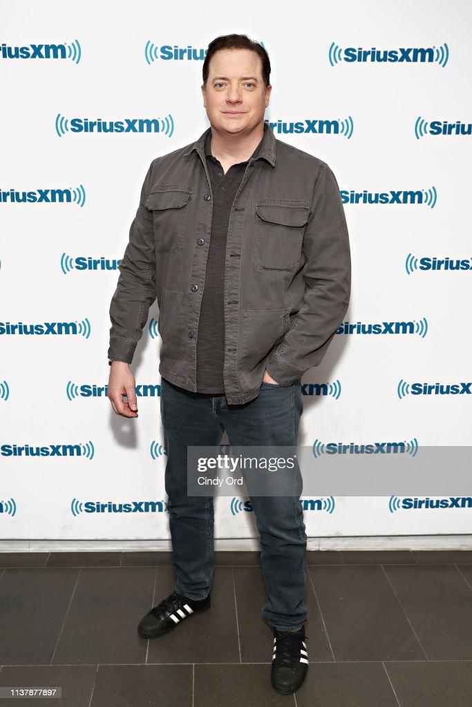 Celebrities Visit SiriusXM - April 18, 2019 : News Photo