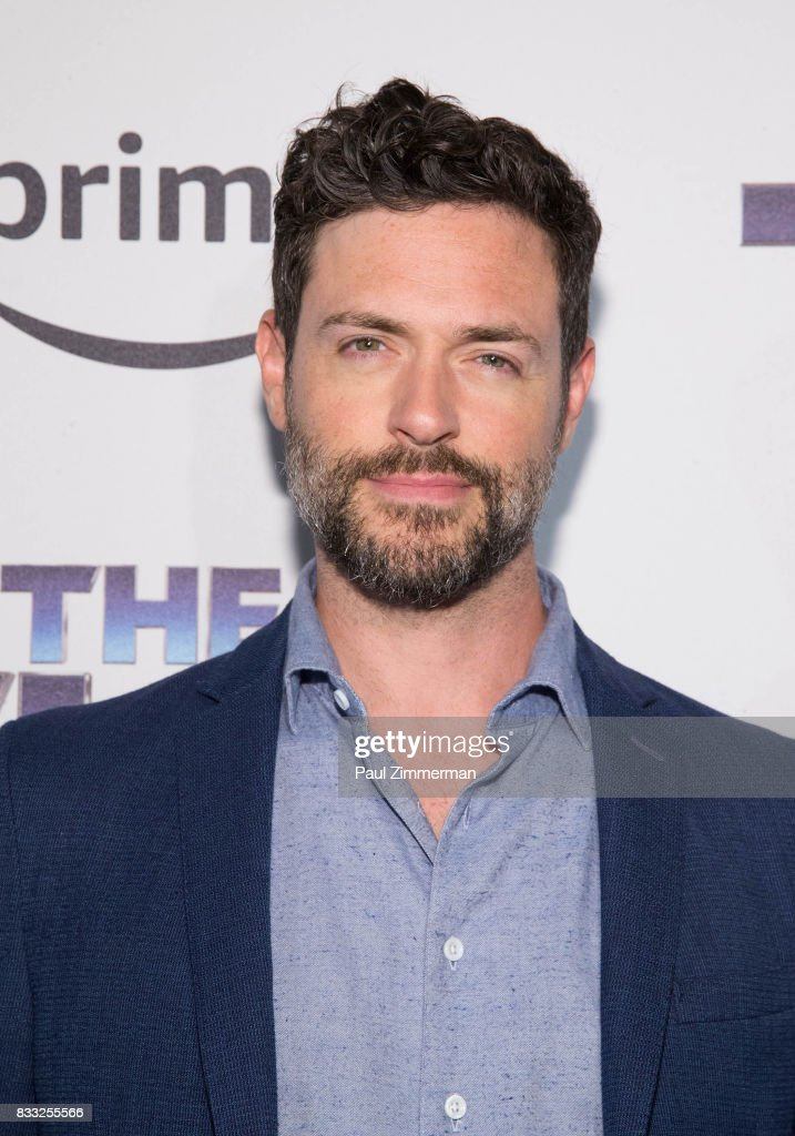Actor Brendan Hines attends 'The Tick' Blue Carpet Premiere at Village East Cinema on August 16, 2017 in New York City.