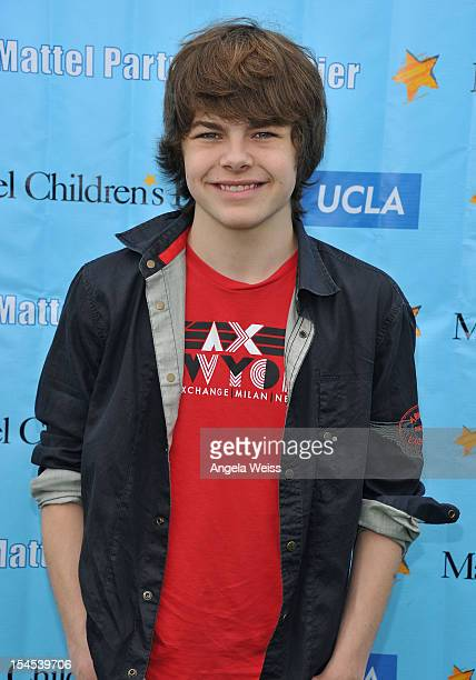 Actor Brendan Meyer arrives to the 'Mattel Party on the Pier' benefiting Mattel Children's Hospital UCLA at Pacific Park on the Santa Monica Pier on...